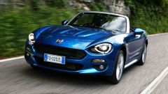 Fiat 124 Spider brucia lo 0-100 in 7,5 secondi