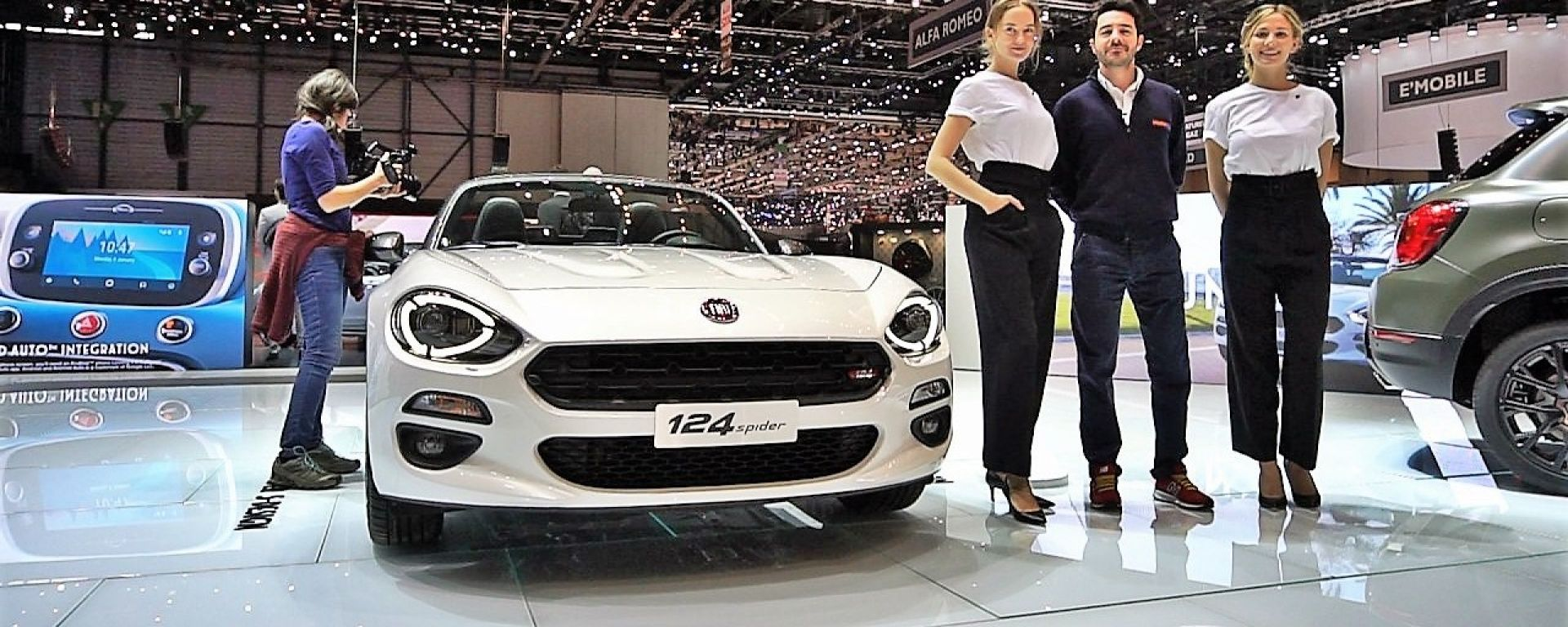 Fiat 124 Spider S-Design in video dal Salone di Ginevra 2018