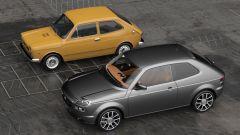 Fiat 127, vecchio e nuovo a confronto