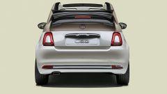 Fiat 500 60esimo anniversario: la capote è di colore grigio