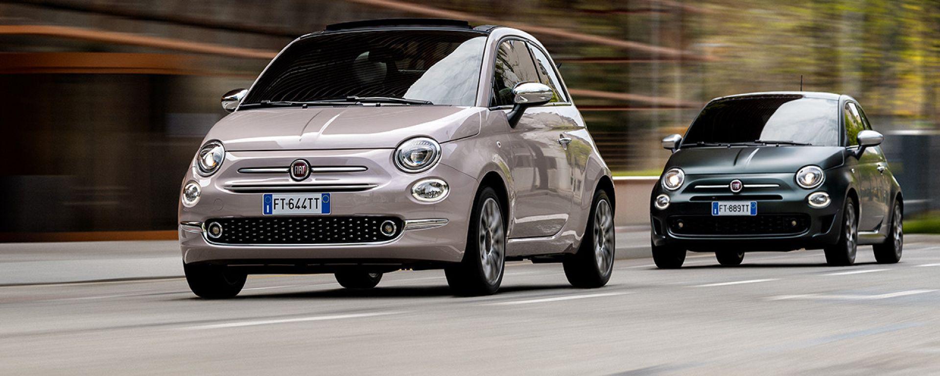 Fiat 500: allestimenti Star e Rockstar