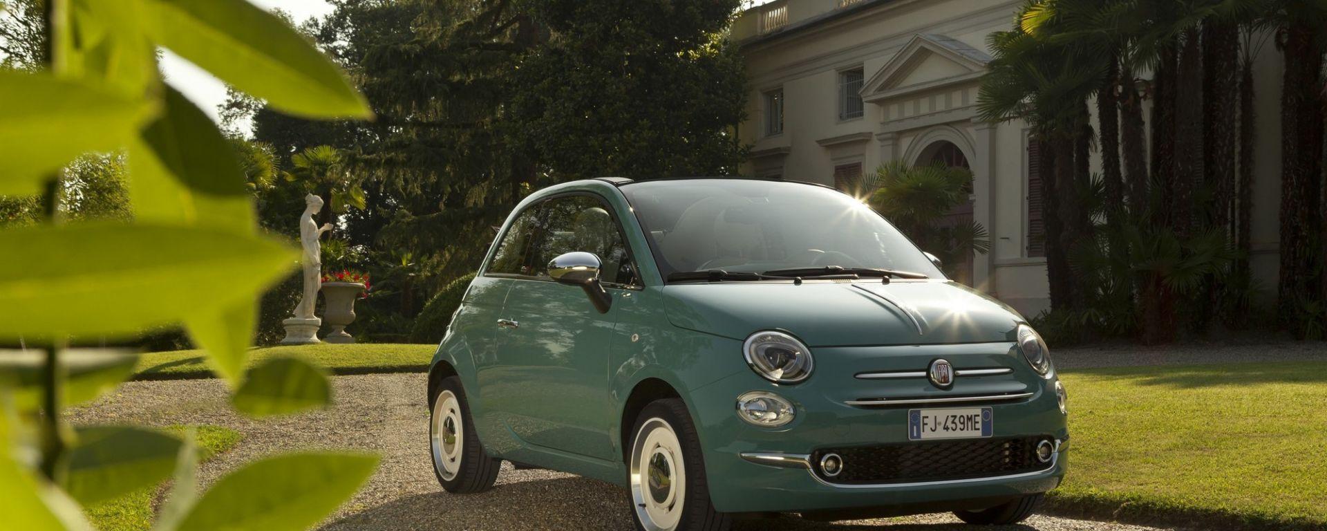 fiat 500 anniversario dell 39 icona dell 39 auto italiana motorbox. Black Bedroom Furniture Sets. Home Design Ideas