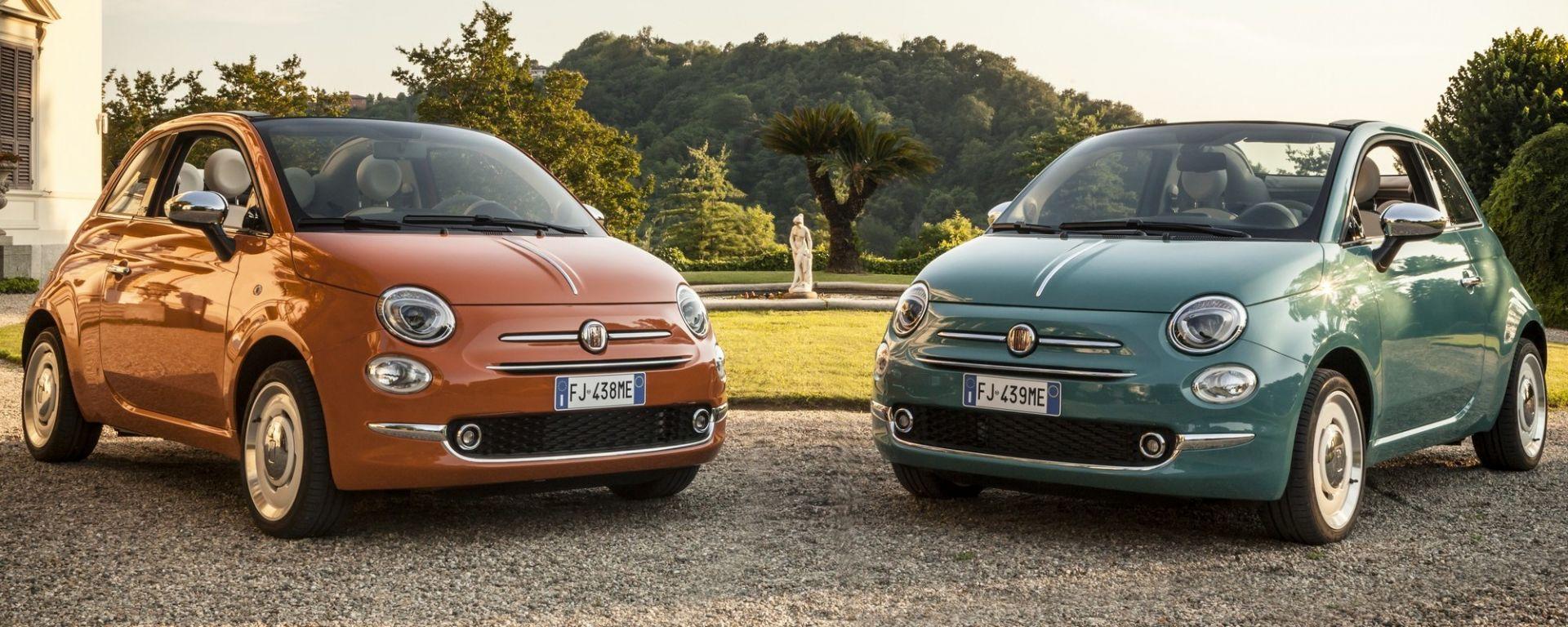 Fiat 500 Anniversario Una Serie Limitata Per I 60 Anni Motorbox