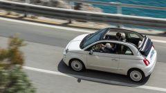 Fiat 500 Cabrio Dolcevita in azione