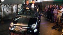 Fiat 500 cabrio: la 555 RR Garage Italia Custom con Renzo Rosso e Lapo Elkann