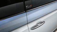 Fiat 500 Collezione: dettaglio della verniciatura bicolore