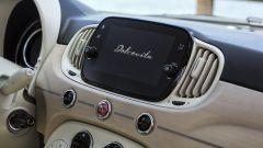 Fiat 500 Dolcevita, il display navigatore