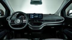 Fiat 500 e: gli interni