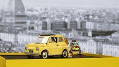 Fiat 500 e LEGO