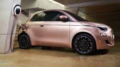 Fiat 500 e: ricarica rapida fino a 85 kW