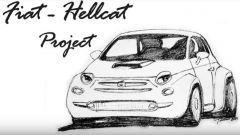 Fiat 500, pazza idea del V8 di Dodge Charger. Il progetto - Immagine: 4