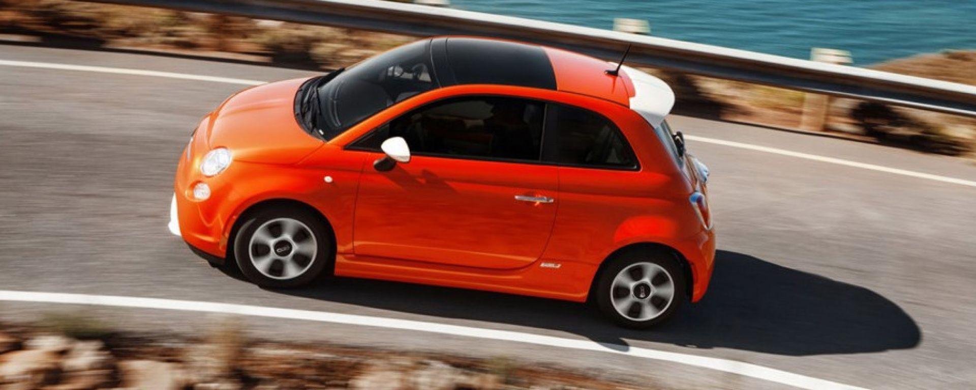 Fiat 500 Sport >> Fiat 500 elettrica: uscita in Italia, autonomia, prezzo - MotorBox