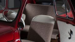 Fiat 500 elettrica by Officine Ruggenti: gli interni restaurati