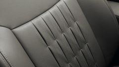 Fiat 500 elettrica one off by Giorgio Armani - particolare delle cuciture dei sedili