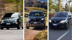 Fiat 500, Fiat Panda, Lancia Ypsilon, dal 2020 anche mild hybrid