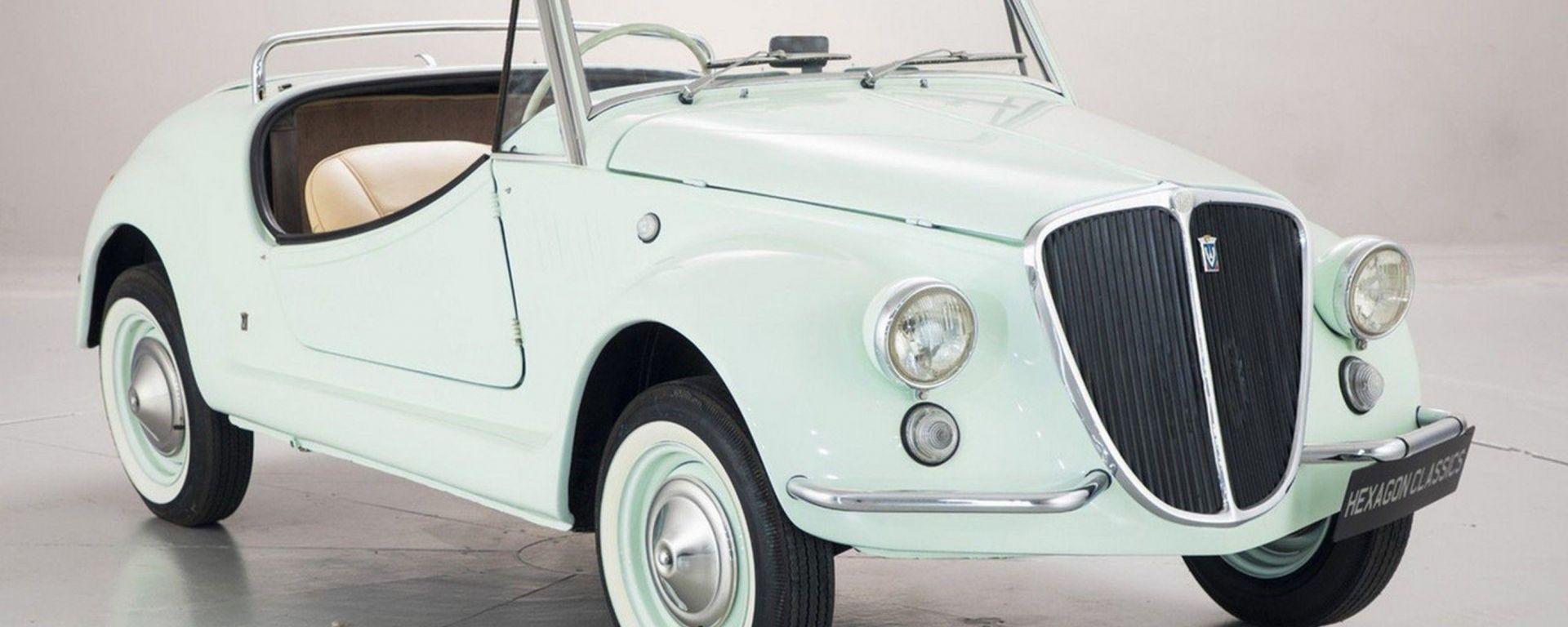 Fiat 500 Gamine by Vignale: eleganza senza tempo