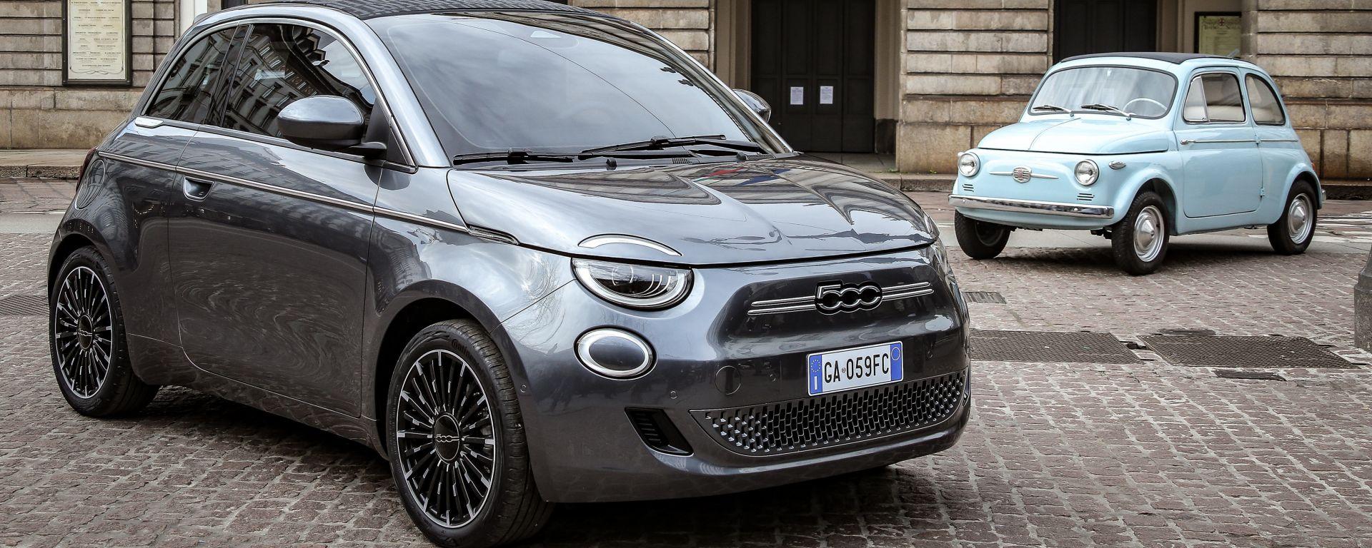 Fiat 500: generazioni a confronto