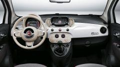 Fiat 500, gli interni