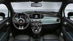Fiat 500 Hybrid: gli interni