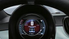 Fiat 500 Hybrid: il display delle funzioni ibride