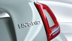 Fiat 500 Hybrid: il logo