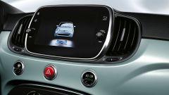 Fiat 500 Hybrid: vista del display multimediale