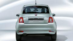 Fiat 500 Hybrid: vista posteriore