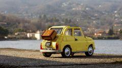 Fiat 500 LEGO Creator Expert: visuale di 3/4 posteriore
