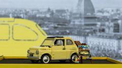 Fiat 500 LEGO Creator Expert: visuale laterale