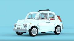 Fiat 500: facciamola in mille pezzi... di Lego - Immagine: 3