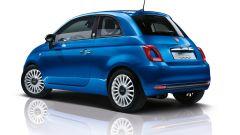 Fiat 500 Mirror, ha la livrea Azzurro Italia