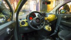 Fiat 500 Paco Rabanne by Garage Italia Customs, gli interni