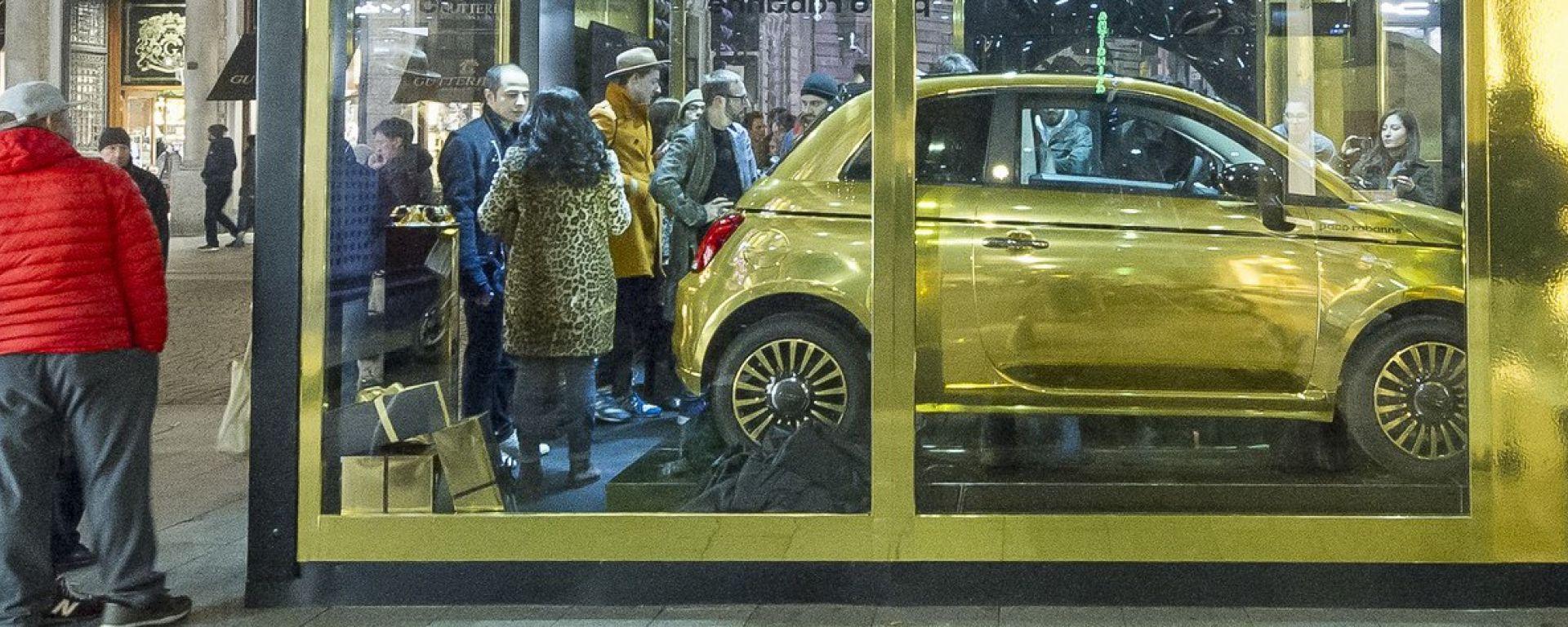 Fiat 500 Paco Rabanne by Garage Italia Customs, l'ultima 500 di Lapo