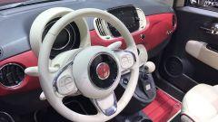 Fiat 500, Salone di Ginevra 2017, interni, volente e cruscotto