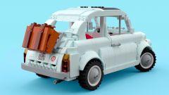 Fiat 500: su Lego Ideas un progetto per realizzarla con oltre mille mattoncini
