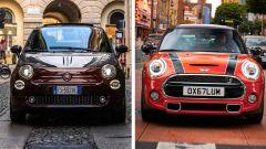 Fiat 500 vs Mini 3 porte