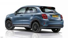 Fiat 500 XL: il posteriore