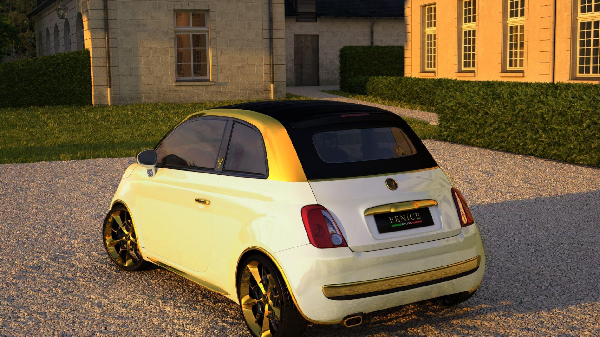Anteprima Fiat 500c Dolce Vita La 500 Da 300 000 Euro Motorbox