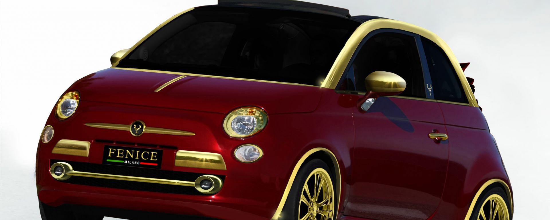 """Fiat 500C """"Dolce Vita"""", la 500 da 300.000 euro"""