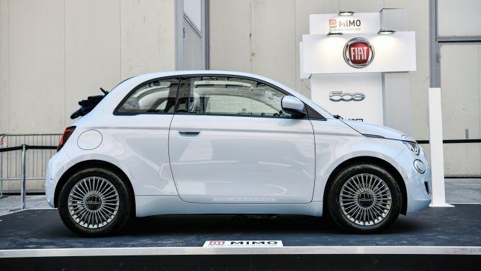 Fiat 500C elettrica a MIMO 2021: la video intervista