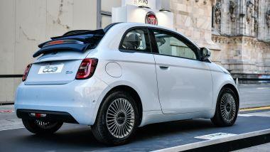 Fiat 500C elettrica a MIMO 2021