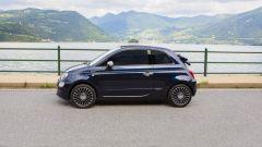 Fiat 500C Riva di profilo