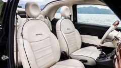 Fiat 500C Riva: i sedili anteriori