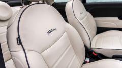 Fiat 500C Riva: i sedili in pelle Poltrona Frau