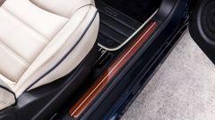 Fiat 500C Riva: il battitacco in mogano