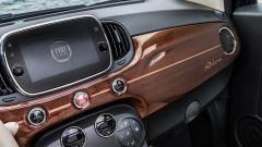 Fiat 500C Riva: il display da 7 pollici dell'impianto infotainment