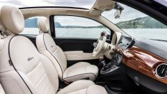 Fiat 500C Riva: il posto di guida