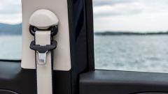 Fiat 500C Riva: le cinture di sicurezza