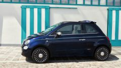 Fiat 500C Riva: vista laterale