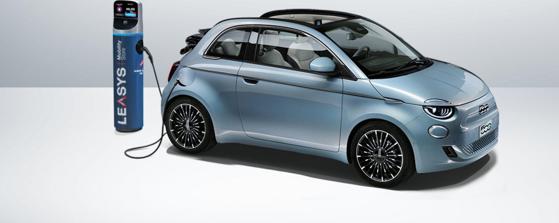 Fiat 500e, a luglio il noleggio a lungo termine conviene